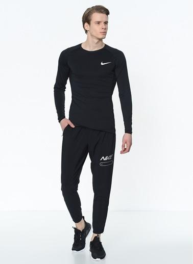 Nike Nike Pro Uzun Kollu Erkek Sweatshirt Siyah